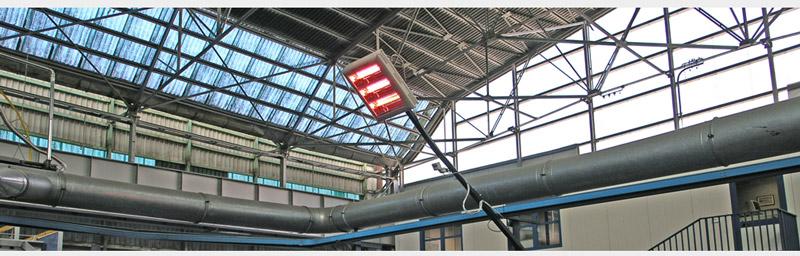 Helios Industrie infrarot Heizstrahler