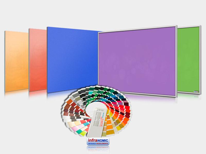 Infrarotheizungen farbig