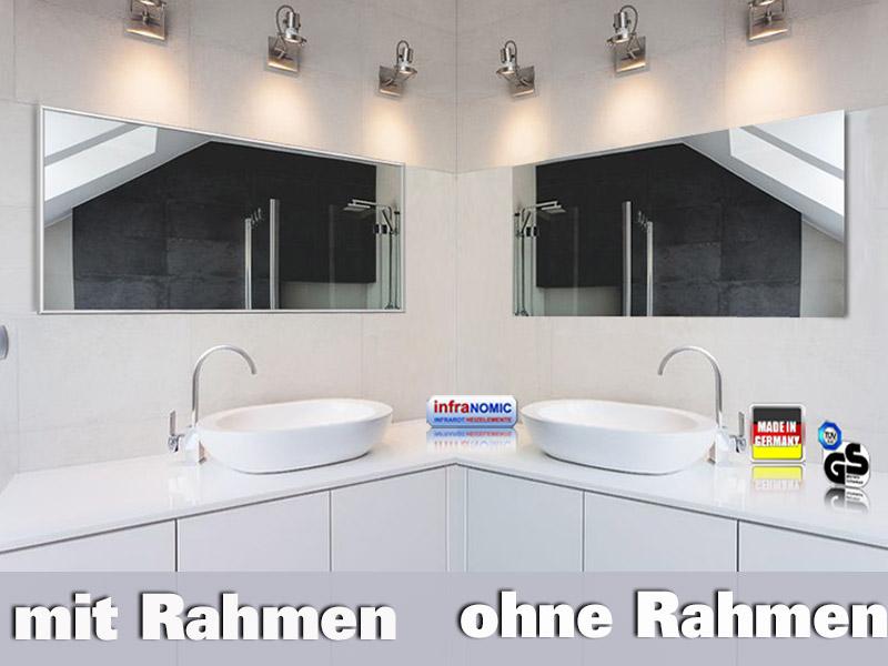 Spiegelheizungen 130x40