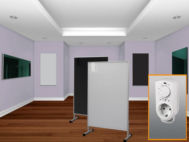 Infrarotheizungen mit Thermostat