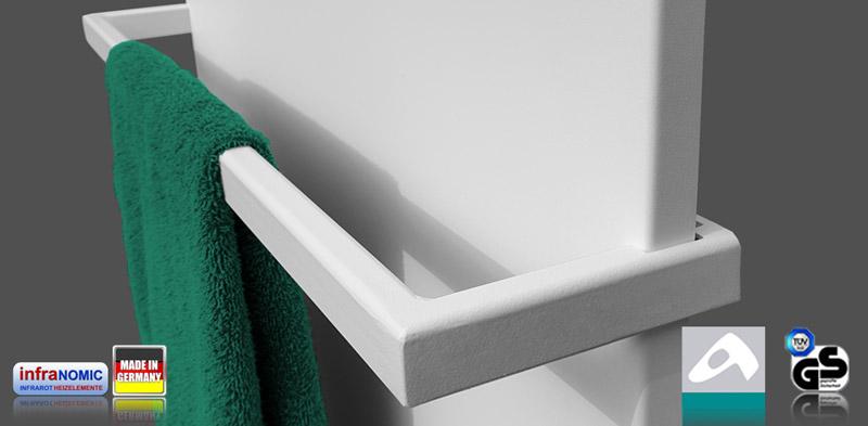 Handtuchhalter Infrarotheizungen