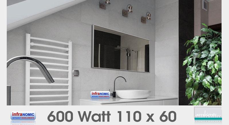 Infrarot Spiegelheizungen 10 Grossen Bis 1400 Watt