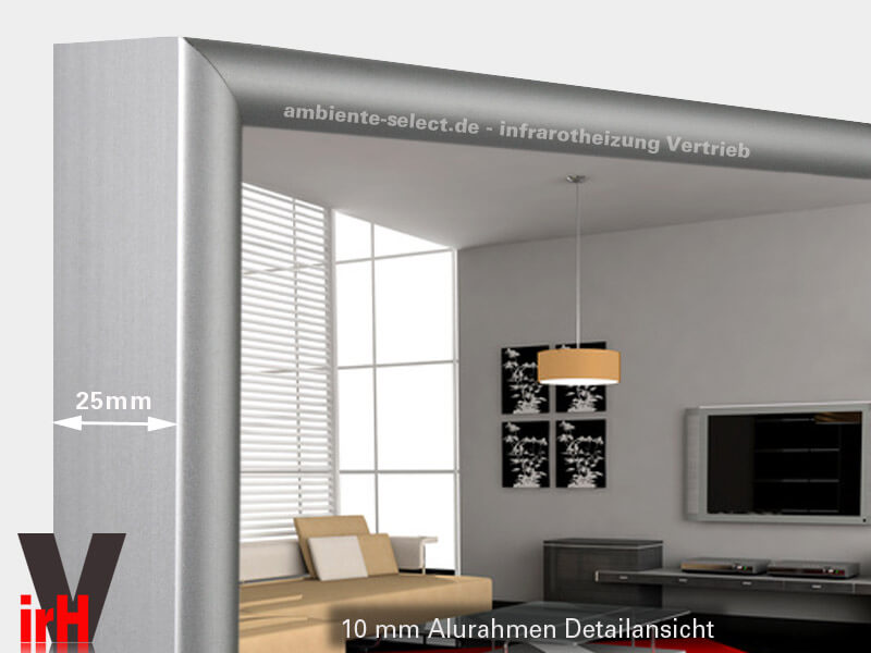 infrarot spiegelheizung einsatzort badezimmer. Black Bedroom Furniture Sets. Home Design Ideas