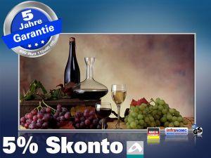 Infrarot Bildheizung 600 Watt 110x60 M10-SL Wein-Trauben