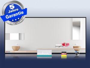 spiegelheizung bad 900 watt mit alurahmen m10s. Black Bedroom Furniture Sets. Home Design Ideas