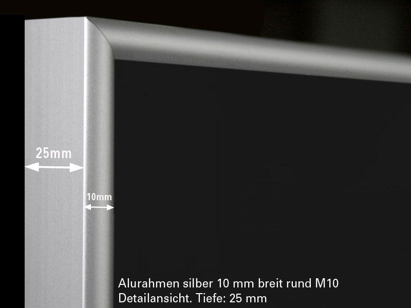infrarotheizung 600 watt schwarz mit alurahmen 10. Black Bedroom Furniture Sets. Home Design Ideas