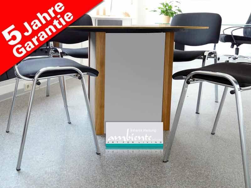 Heizende Möbel mit Infrarotwärme Heiztisch Ø 100 cm von infranomic