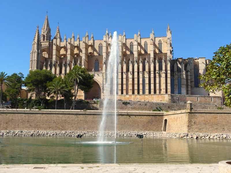 Bildheizung-Motiv Mallorca Kathedrale für Standard Infrarotheizung