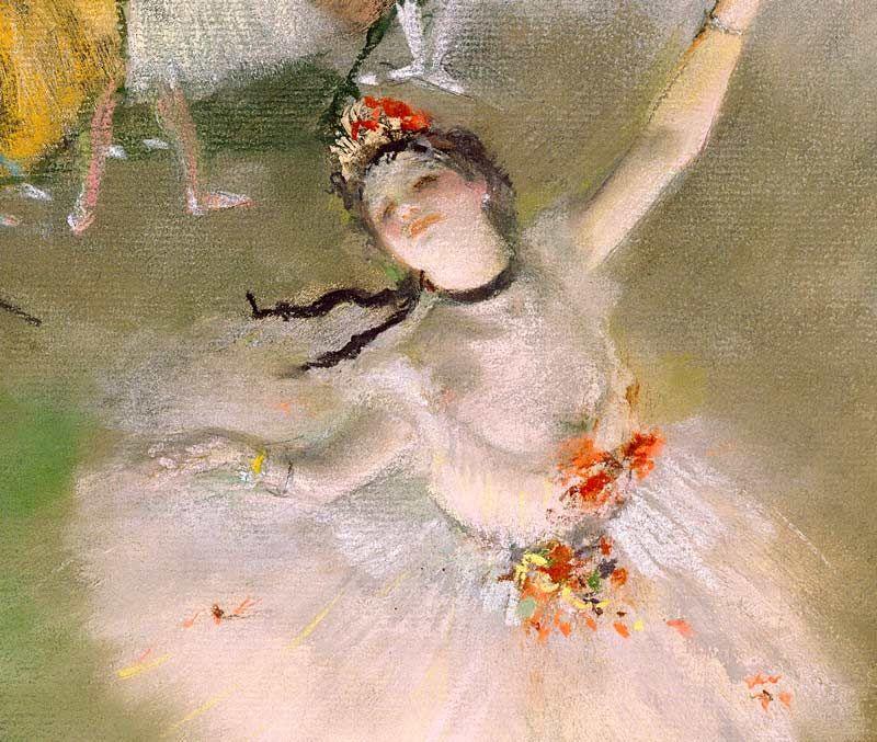 Degas: Primaballerina Bildauswahl für Bildheizung 70x60