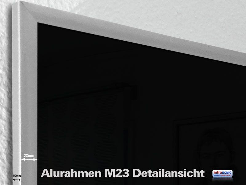 Aufpreis Alurahmen M23 alle Größen