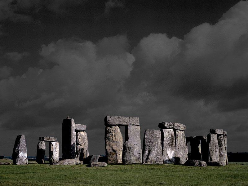 Bildheizung-Motiv Stonehenge für Standard Infrarotheizungen