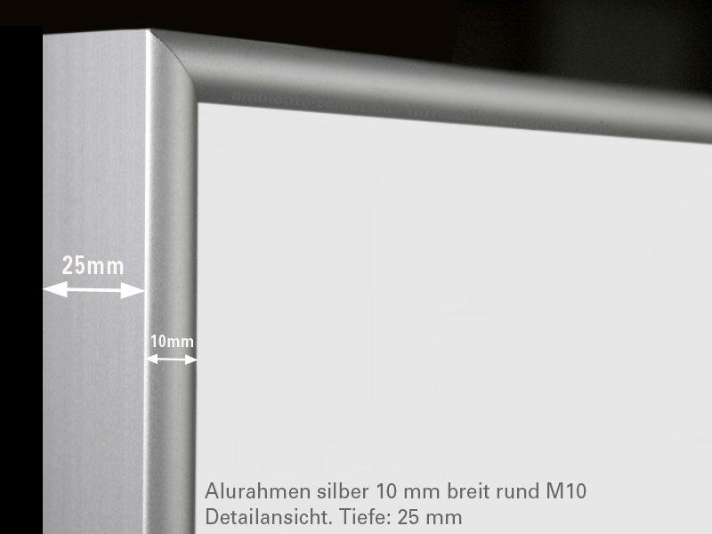 infrarotheizung 210 watt wei mit alurahmen m10. Black Bedroom Furniture Sets. Home Design Ideas