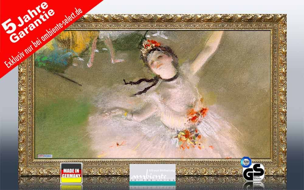 Infrarot Bildheizung Kunst 600 Watt 110x60 StG Primaballerina