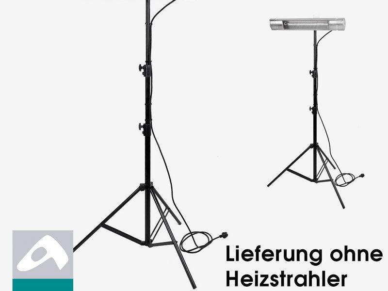 Heizmeister Dreibein Stativ 210 cm verstellbar