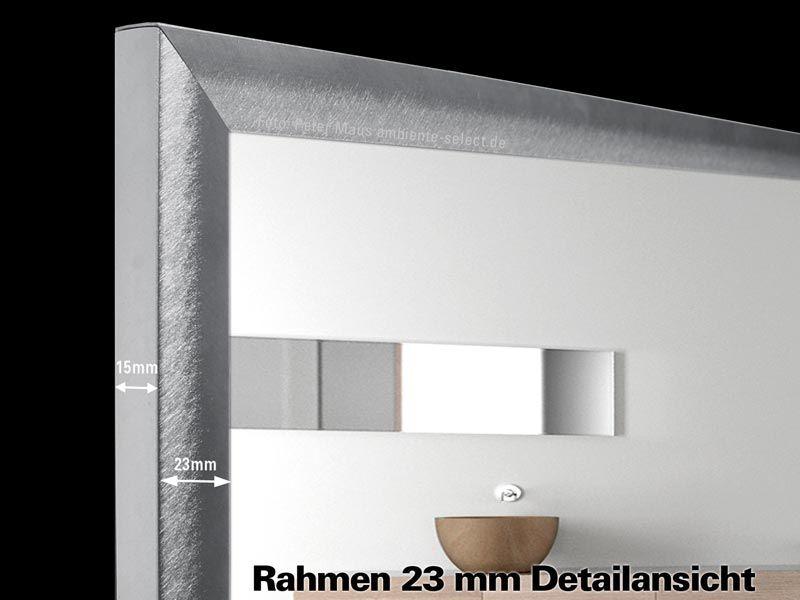 infrarot spiegelheizung bad 210 watt rahmen m23. Black Bedroom Furniture Sets. Home Design Ideas