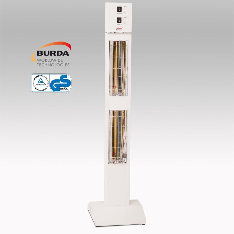 BURDA SMART TOWER BHST30 IP20 weiß mit integriertem Dimmer