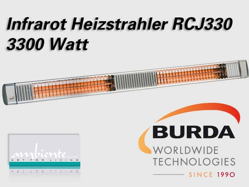 Burda Infrarot Heizstrahler TERM 2000 RCJ330 IP67