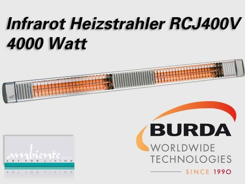 Burda Infrarot Heizstrahler TERM2000 RCJ400V IP67