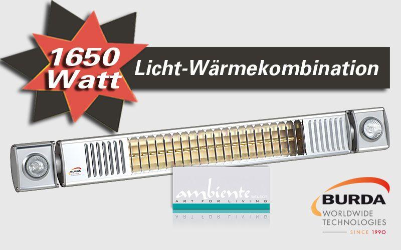 Burda Infrarot Heizstrahler 1650W mit Licht TERM2000 L&H RLH1765