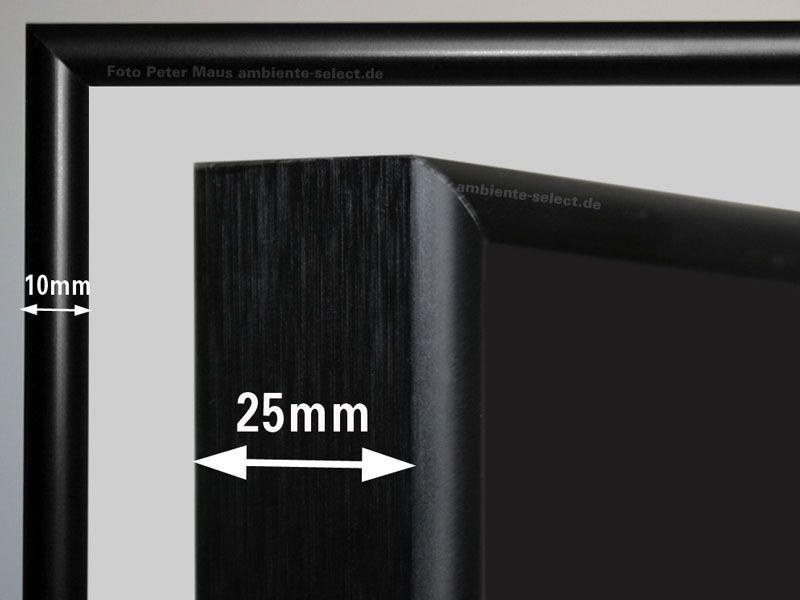 Aufpreis Alurahmen schwarz M10S alle Größen