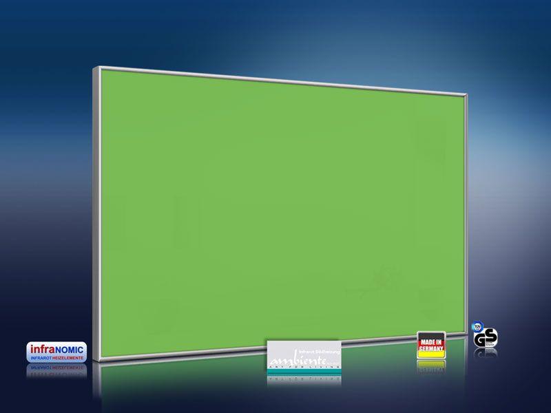 infrarotheizung farbig 500 watt minzgruen. Black Bedroom Furniture Sets. Home Design Ideas