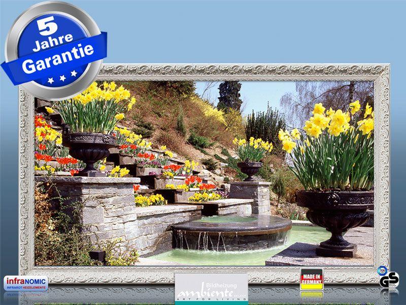 Infrarotheizung als Bild Bildheizung 600 Watt 110x60 StAw Steingarten