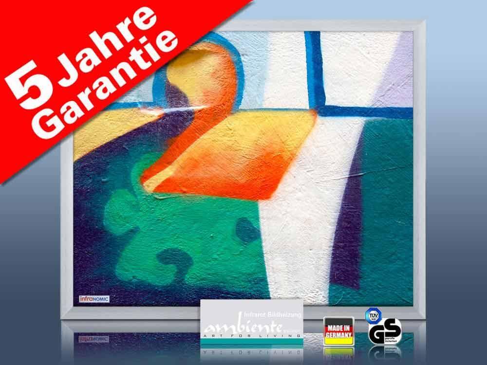 Infrarot Bildheizung 400 Watt 70x60 M23-SG Abstrakt 02