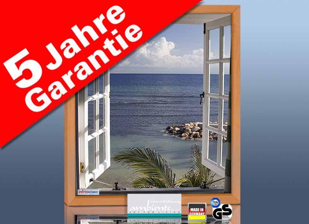 Infrarot Bildheizung 400 Watt 70x60 HB30 Fenster
