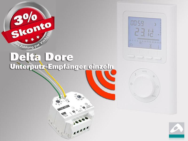 Delta Dore Unterputz FunkEmpfänger einzeln