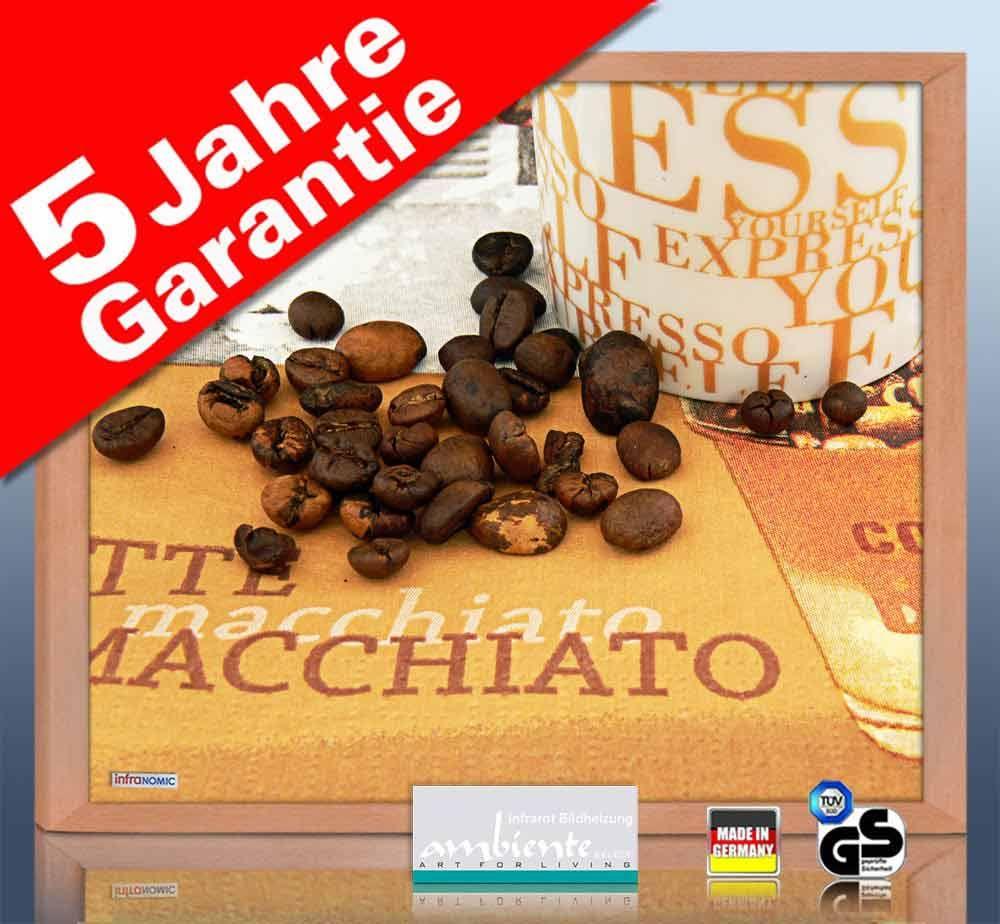 Infrarot Bildheizung 400 Watt 70x60 HB30 café