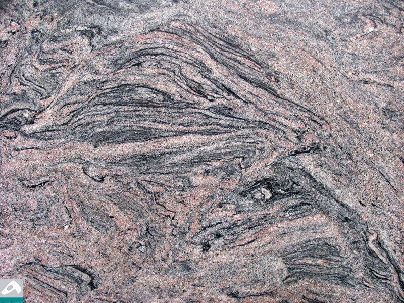 Naturstein Optik Black Tiger für Infrarot Bildheizung