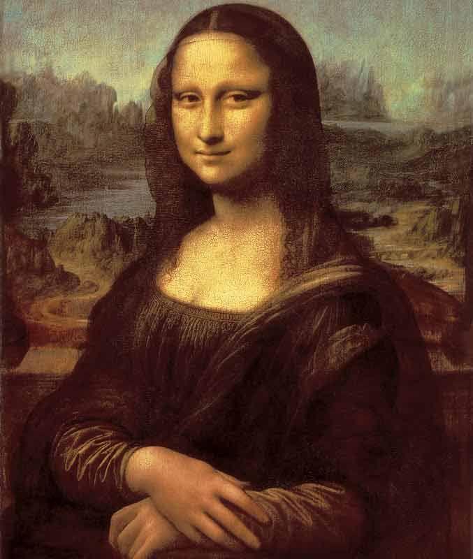 Da Vinci: Mona Lisa Bildauswahl für Bildheizung 60x70