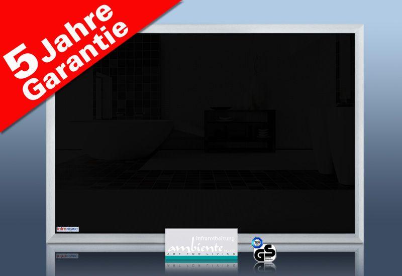 Infrarot Tafelheizung 500 Watt 90x60 Schreibtafel M23