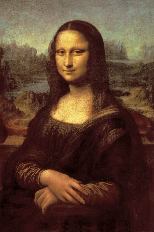 da Vinci: Mona Lisa Bildauswahl für Bildheizung 60x90