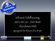Infrarotheizung weiß Spiegelheizung Bad 600 Watt 110x60 M10