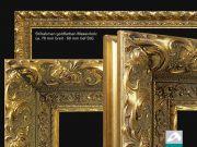 Infrarot Spiegelheizung 400 Watt 70x60 Stilrahmen Goldfarben StG