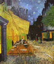 van Gogh: café de nuit Bildauswahl für Bildheizung 70x60