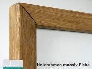 Aufpreis Holzrahmen massiv Buche oder Eiche alle Größen
