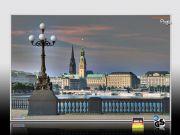 Bildheizung-Motiv Lombardsbrücke für Standard Infrarotheizungen
