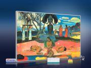 infrarot Bildheizung Kunst 500 Watt 90x60 M10-SL Sonntag (Gauguin)
