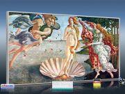 Infrarot Bildheizung Kunst 700 Watt 120x60 M10-SL Geburt der Venus