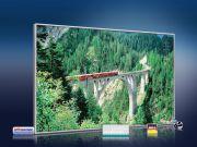 infrarot Bildheizung 500 Watt 90x60 M10-SL Viadukt