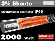 Infrarot Heizstrahler 2000 Heizmeister Professionell IP65