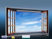 Infrarot Bildheizung 600 Watt 110x60 M10-SL Fenster II