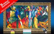 Infrarot Bildheizung Kunst 600 Watt 110x60 StG Zoologischer Garten