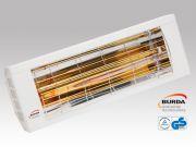 Burda Infrarot Wärmestrahler SMART 2000 IP20 2,0 KW weiß BHS20