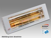 Burda Infrarot Wärmestrahler SMART 2000 IP20 2,0 KW silber BHS20-3