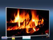 Infrarot Bildheizung 600 Watt 110x60 M10-SL Kaminfeuer