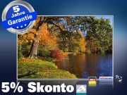 infrarot Bildheizung 500 Watt 90x60 M10-SL Herbststimmung