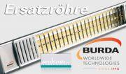 Burda Infrarot Heizstrahler Ersatzröhre TERM2000 IP67 1,0kW